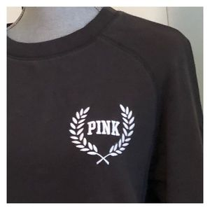VS PINK gray sweatshirt